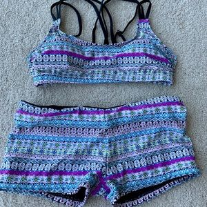 Two Piece Shorts Bathing Suit